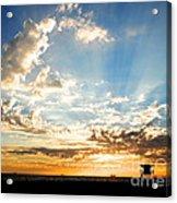 Hallelujah  Sunset Acrylic Print