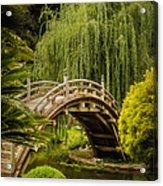 Huntington Japanese Garden No 3 Acrylic Print