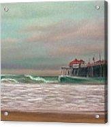 Huntington Beach Morning Acrylic Print