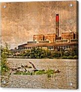 Huntly Power Station Acrylic Print