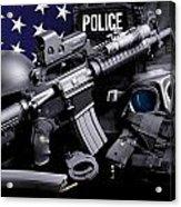 Huntsville Police Acrylic Print