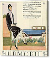Hupmobile 1929 1920s Usa Cc Cars Womens Acrylic Print by The Advertising Archives