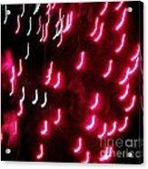 Huron Fireworks 8 Acrylic Print by Jackie Bodnar