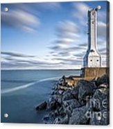 Huron Harbor Lighthouse Acrylic Print