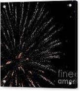 Huron Ohio Fireworks 14 Acrylic Print by Jackie Bodnar