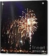 Huron Ohio Fireworks 2 Acrylic Print