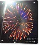Huron Ohio Fireworks 5 Acrylic Print by Jackie Bodnar