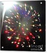 Huron Ohio Fireworks1 Acrylic Print by Jackie Bodnar