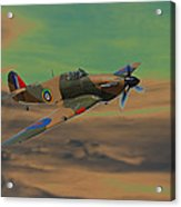 Hurricane Fighter Plane 2 Acrylic Print