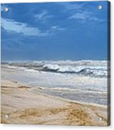 Hurricane Isaac Impacts Navarre Beach Acrylic Print