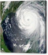Hurricane Katrina Acrylic Print