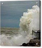 Hurricane Sandy's Fury 8 Acrylic Print