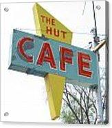 Hut Cafe Acrylic Print