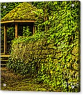 Hut In The Forest Acrylic Print