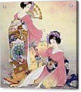 Hutari Mai Acrylic Print by Haruyo Morita