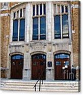 Hutchinson Central Technical High School Acrylic Print