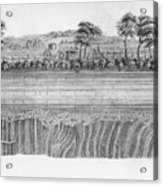 Hutton's Unconformity Acrylic Print