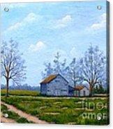 Hwy 302 Farm Acrylic Print