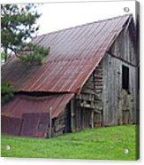 Hyde Farm Barn Acrylic Print