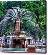 Hyde Park Fountain Acrylic Print