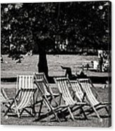 Hyde Park In London England Acrylic Print
