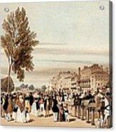 Hyde Park, Towards The Grosvenor Gate Acrylic Print