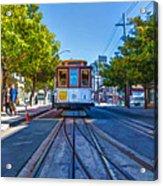Hyde Street Trolley Acrylic Print