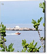 Hydra Island During Springtime Acrylic Print