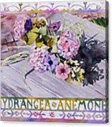 Hydrangea Anemones Acrylic Print