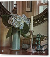 Hydrangea Still-life Acrylic Print