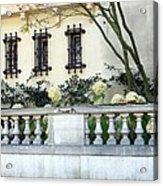 Fall Hydrangeas Acrylic Print