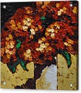 Hydrangeas II Acrylic Print by Vickie Warner