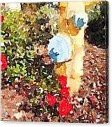Hydrant Acrylic Print