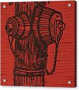 Hydrant Acrylic Print by William Cauthern