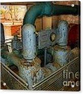Hydro Power Acrylic Print