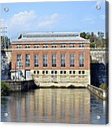 Hydroelectric Power Acrylic Print