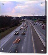 I-75 Knoxville At Dusk Acrylic Print