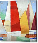 I Am Sailing Acrylic Print by Lutz Baar