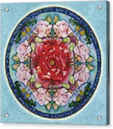I Am That Mandala Acrylic Print