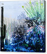 I Am.. The Arizona Dreams Of A Snow Covered Christmas, Regardless Of Our Interpretation Of- Winter 1 Acrylic Print