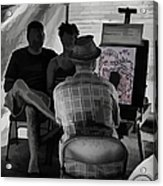 I Draw You Caricatures In Asheville Acrylic Print