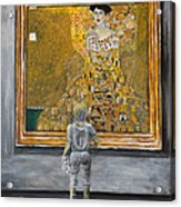 I Dream Of Klimt Acrylic Print