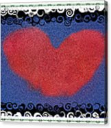 I Give You My Heart Acrylic Print