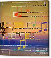 I Have Music In My Heart Acrylic Print