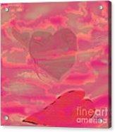 I Lay Down My Heart Acrylic Print