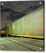 I Like To See It Lap The Miles Acrylic Print