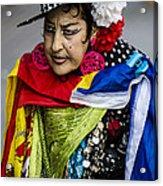 I Love Colors Acrylic Print