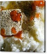 I Love Mashed Potatoes Acrylic Print