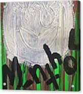 I Love Menthol Smokes Acrylic Print by Lisa Piper