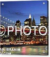 I Love New York -  Limited Edition Acrylic Print